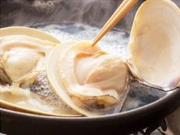ハマグリのバター煮(焼き)